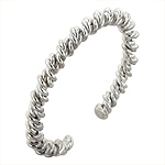 Sterling Silver Twisted Ropes Cuff
