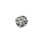 Sterling Silver Scroll Bead
