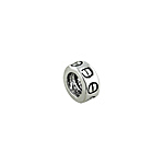 Sterling Silver Screw Motif Bead Spacer