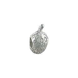 Sterling Silver Strawberry Bead