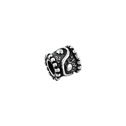Sterling Silver Thai Pattern Bead